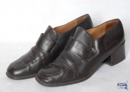 Lote De 4 Pares De Zapatos Y Botas Cuero Verdadero!