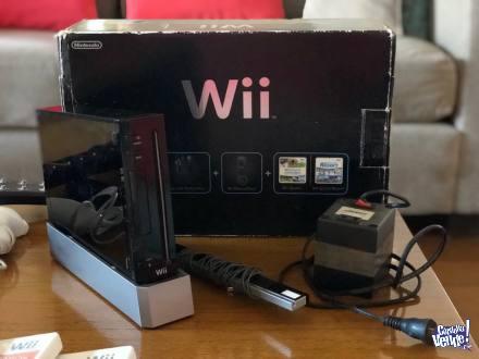 Consola Nintendo Wii Chipeada 18 Juegos Originales