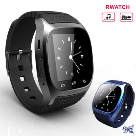 Reloj Inteligente M26 Telefono Cámara Android Iphone