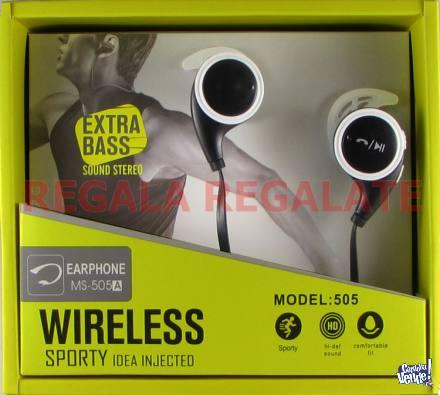 Auriculares Bluetooth Deportivo Mano Libres Sport