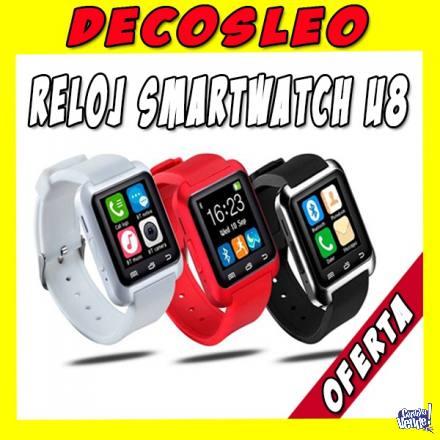Reloj Inteligente Smartwatch U8 Android Iphone Decosleo Ya !