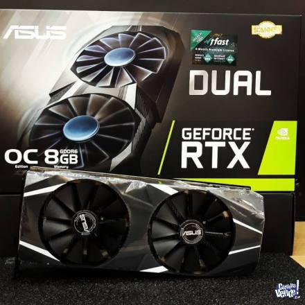 ASUS Dual GeForce RTX 2070 OC edition 8GB GDDR6 Graphics Car en Argentina Vende