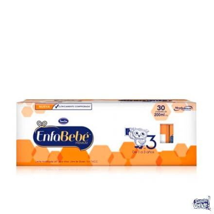 ENFABEBÉ PREMIUM 3 - brick x 200ml - Pack x 30 bricks