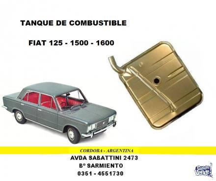TANQUE DE NAFTA FIAT 125 - 1500 - 1600