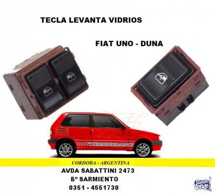 TECLA LEVANTA VIDRIO FIAT DUNA-UNO