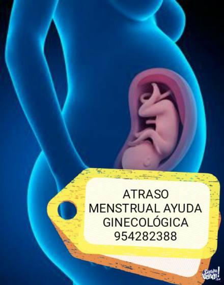 Atraso Menstrual 954282388 CIENEGUILLA Limpieza Segura en Argentina Vende