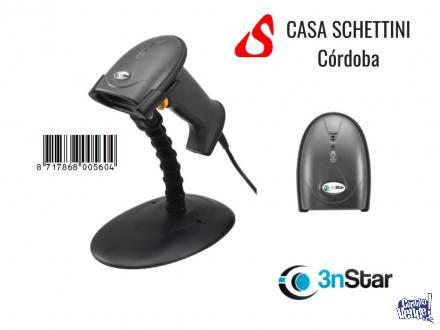 Lector De Códigos De Barras Láser 3NSTAR SC 100 USB c/ pí