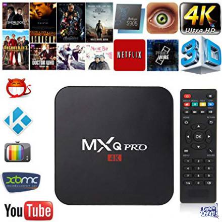 tvbox mxq pro 4k  converti  tu tele en smart tv