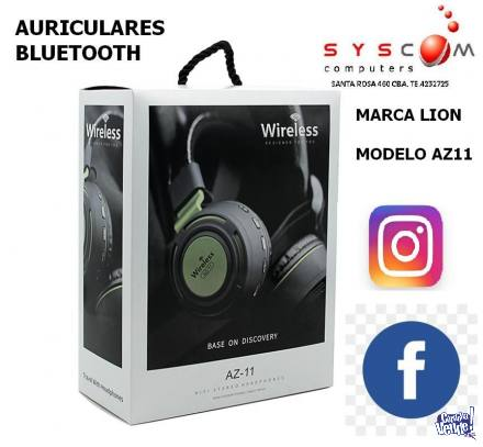 auriculares lion bluetooth    high definition