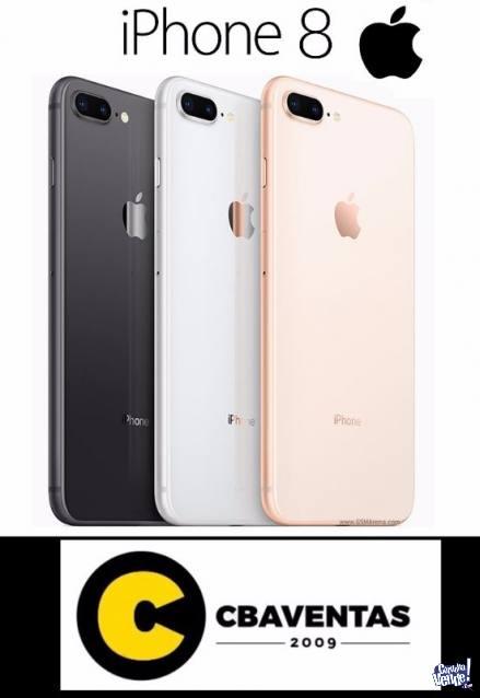 IPHONE 8, IPHONE 8 PLUS 64GB Y 256GB NUEVOS SELLADOS EFTIVO
