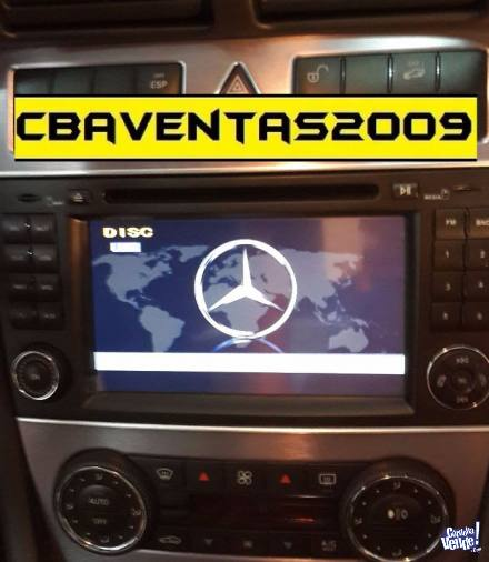 Stereo CENTRAL MULTIMEDIA Mercedes Benz C W203 C200 C250 Gps