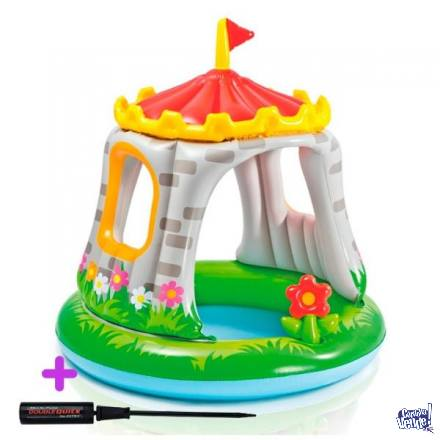Castillo Inflable Pileta Pelotero Intex