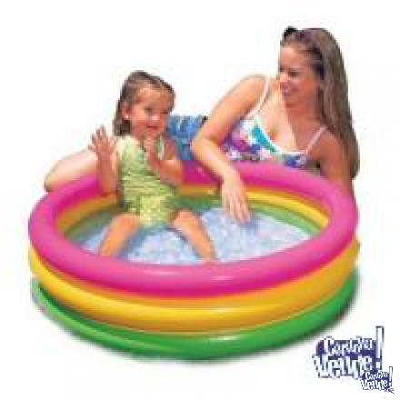 Pileta Piso Inflable Intex