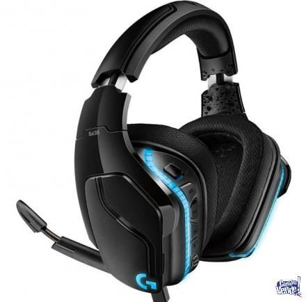 Auriculares Logitech G635 Gaming 7.1 Ps4 Pc Xbox Luces Rgb