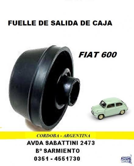 CAPUCHON PALIER FIAT 600