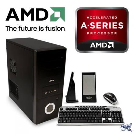 PC AMD APU A6 6400 SSD 120GB 4GB - 4 Nucleos