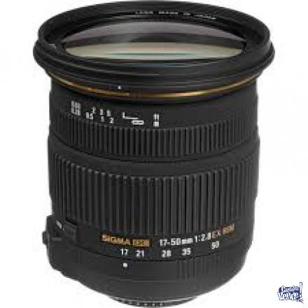Estandar Zoom Sigma 17-50mm f/2.8 DC EX OS HSM Nikon Canon