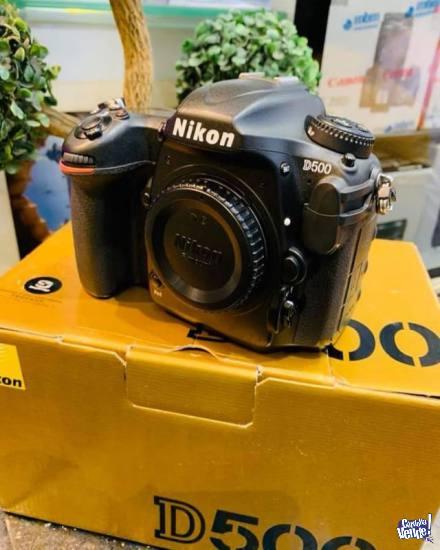 Nikon D500 DX-Format Digital SLR, 20.9 MP Body Camera en Argentina Vende