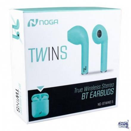 Auriculares Noga Btwins 5 Verde en Argentina Vende