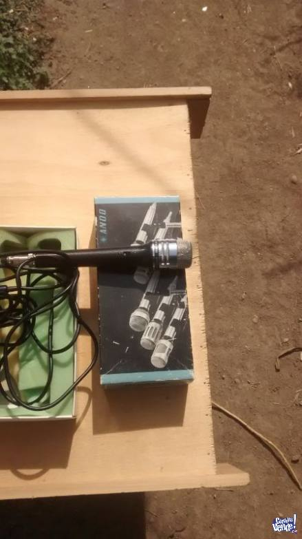 Micrófono Marca ANDO SD-122D JAPAN.