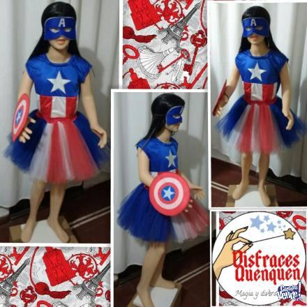 OFERTA Reyes! Disfraz de Capitán América para ni