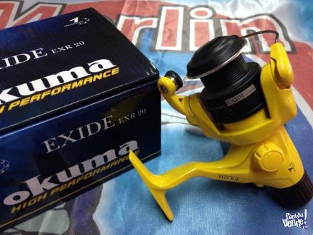 Reel Frontal Okuma Exide 20 Ideal Pejerrey Spinning
