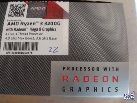 AMD Ryzen™ 3 3200G con Gráficos Radeon™ Vega 8 en Argentina Vende