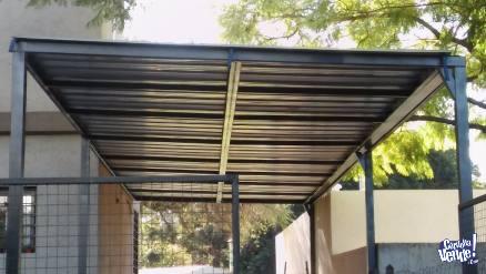 Construccion de techos de chapa trapezoidal