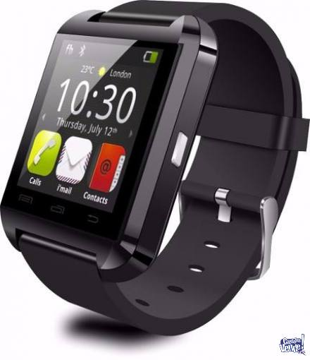 Smart Watch U8 Touch Reloj Inteligente Android Tactil Negro