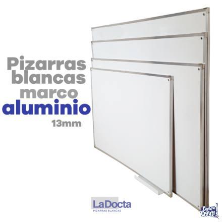 PIZARRAS BLANCAS 120x150cm – Marco de Aluminio (Nueva Cba. en Argentina Vende