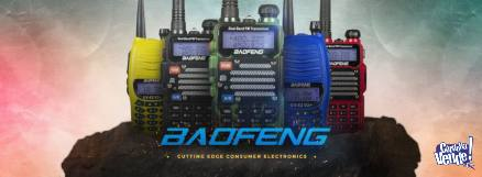 EQUIPO DE COMUNICACION HANDIE BAOFENG UB 82 BATERIA 2800 mah