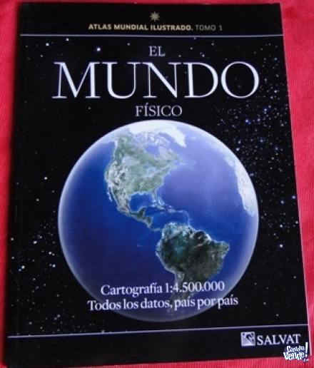 ATLAS MUNDIAL ILUSTRADO    TOMO 1  EL MUNDO FÍSICO    ED. S