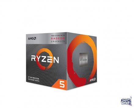 Procesador AMD Ryzen 5 3400G, 3.7/4.2GHz, Gráficos Vega 11