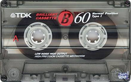 Tape cassettes TDK 60 tipo 1