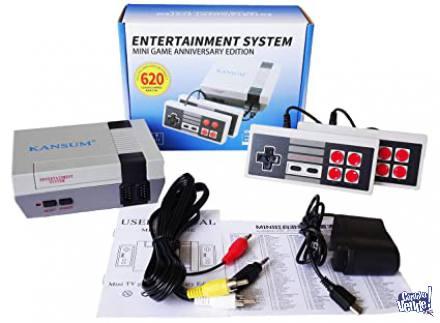 consola mini retro 620 juegos