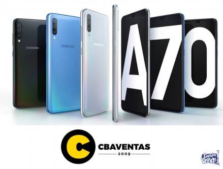 SAMSUNG A70 128GB/6RAM! NUEVOS, GARANTIA, EFECTIVO! CENTRO!