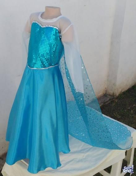 Disfraz de Elsa de Frozen para niñas