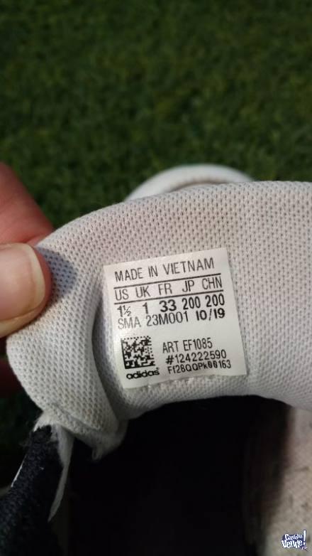 zapatillas niño adidas T 33 CUERO IMPECABLES