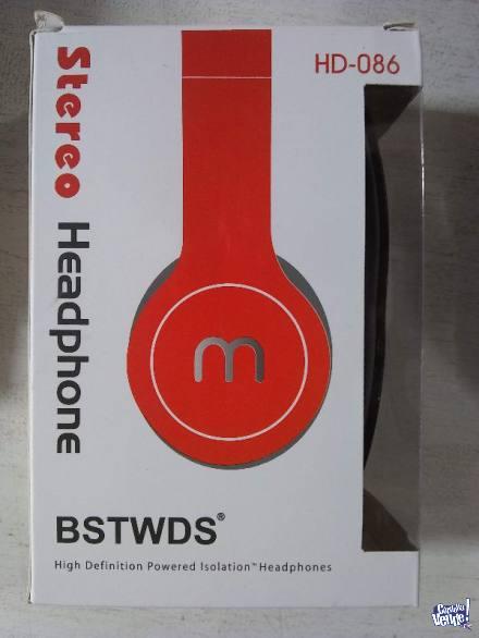 Auriculares Stereo Headphone Hd-086 Bstwds en Argentina Vende