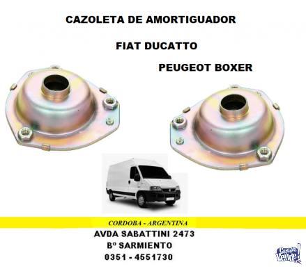 CAZOLETA AMORTIGUADOR FIAT DUCATTO - PEUGEOT BOXER