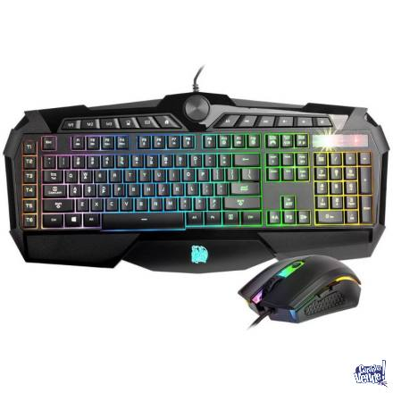 Combo Teclado y Mouse Gamer Thermaltake Challenger Prime RGB