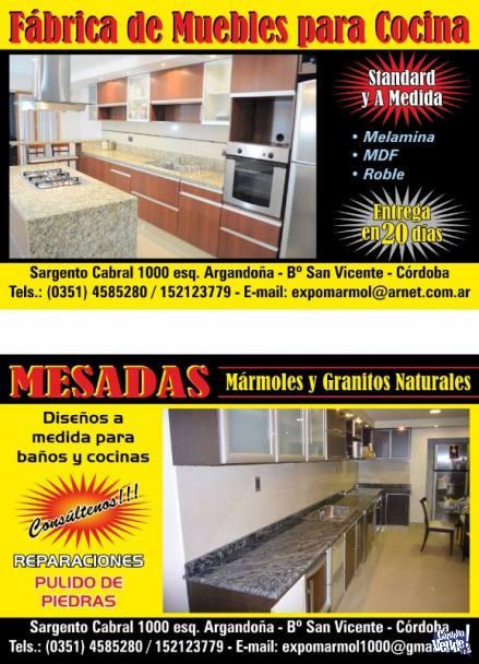 Fabrica De Muebles De Cocina - Directo De Fabrica !!!, Córdoba Vende