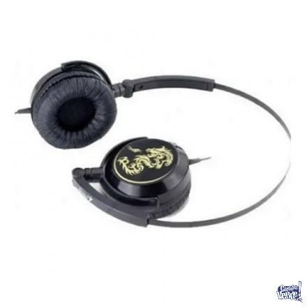 Auricular Genius Plegable Ghp-400f Sin Micrófono