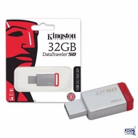 USB 32GB KINGSTON DT50 3.0 METALICO