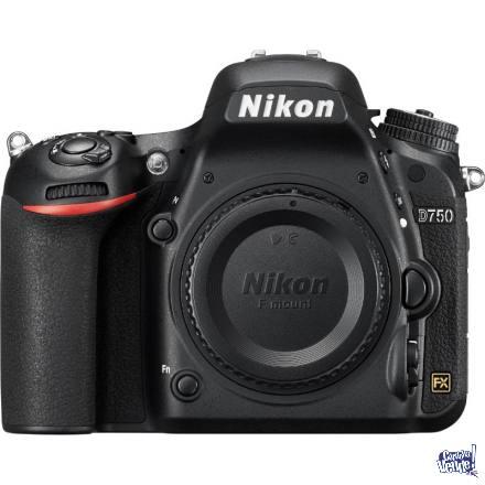Nikon D750 Cuerpo + SD 16 GB