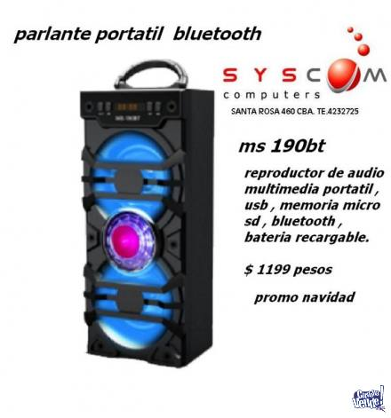 PROMO PARLANTE  PORTATIL BLUETOOTH