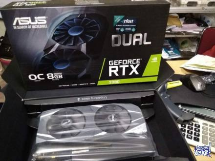 ASUS Dual GeForce RTX 2080 OC Edition Graphics Card