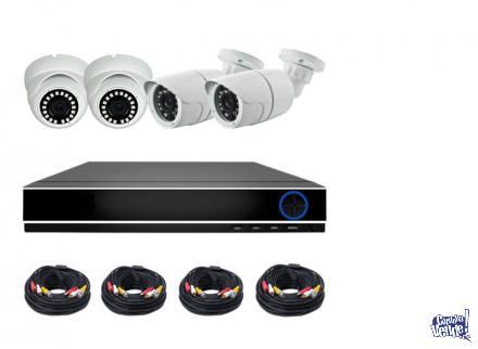 Kit de seguridad 4 Cámaras HD IR