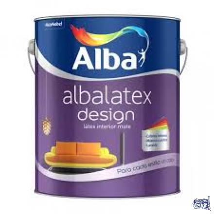 Albalatex Design Latex Interior COLORES VARIOS 4lt-Colormix