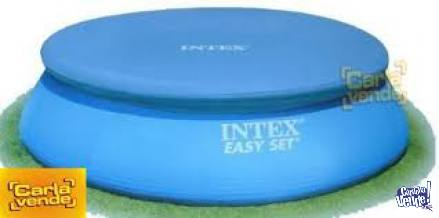 Cobertor 305 Pileta Intex Con Aro Inflable